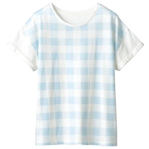 衿ぐりデザインが選べるプリントTシャツ(半袖)