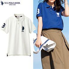 ビッグロゴポロシャツ(U.S.POLO ASSN)
