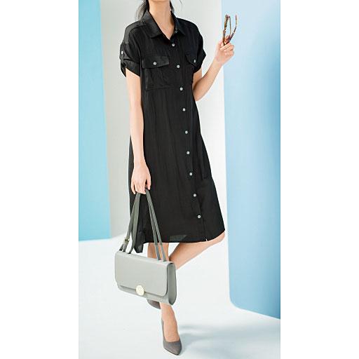 【大きいサイズ プランプ】Trend of Plump-今狙うべきなのは、かっこいいのに女らしさが叶う服-シャツワンピース