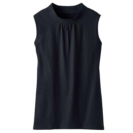 ハイネックノースリーブTシャツ