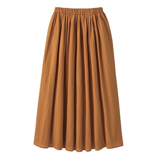 丈が選べるコットンギャザースカート