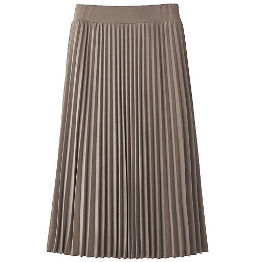 ジャージプリーツスカート