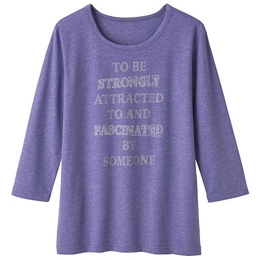 プリントTシャツ(7分袖)