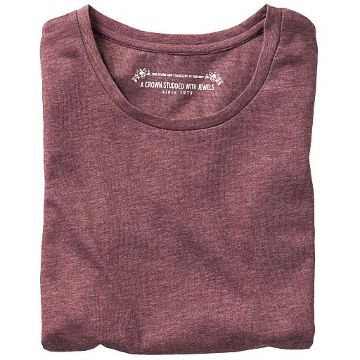 シンプルクルーネックTシャツ