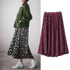 花柄フィッシュテールスカート