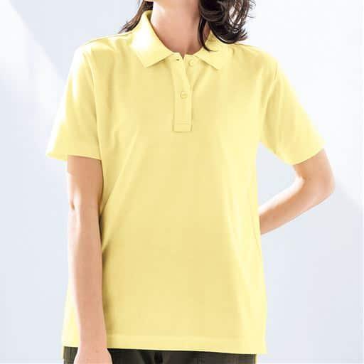 <セシール> 【レディース】 UVカットポロシャツ(半袖)画像