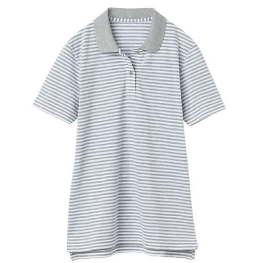 【レディース】 UVカットポロシャツ(半袖)の通販