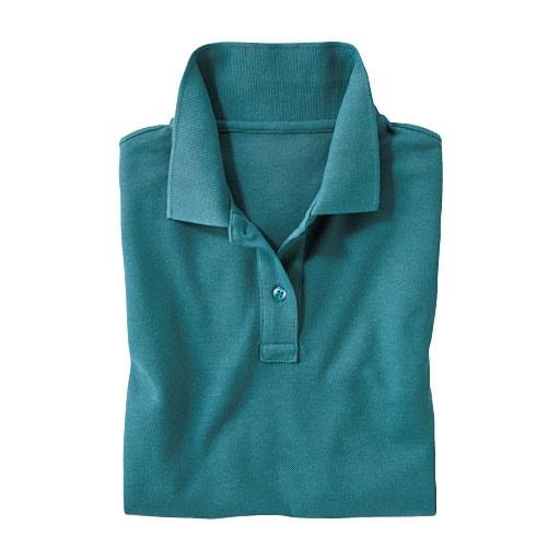 【SALE】 【レディース】 UVカットポロシャツ(長袖)(S-5L) - セシール