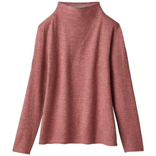 30%OFF【レディース】 接結ウール混Tシャツ(日本製)