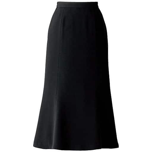 【レディース大きいサイズ】 ロングマーメイドスカート(ブラックフォーマル) – セシール