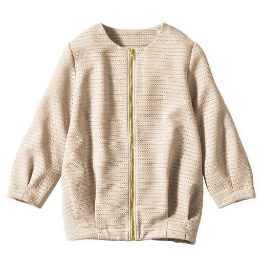 【SALE】 【レディース】 メッシュジャカードジャケット