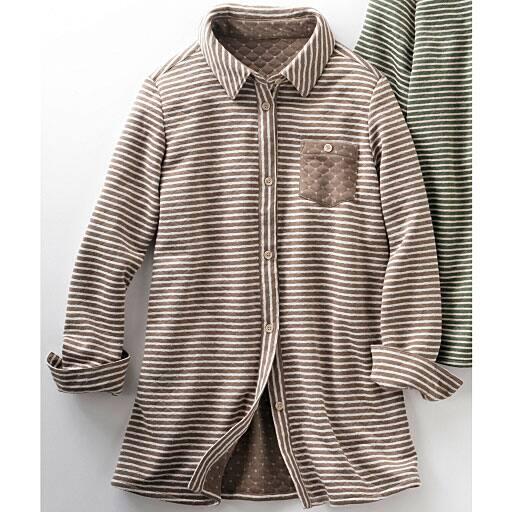 【SALE】 【レディース】 キルティングシャツジャケットの通販
