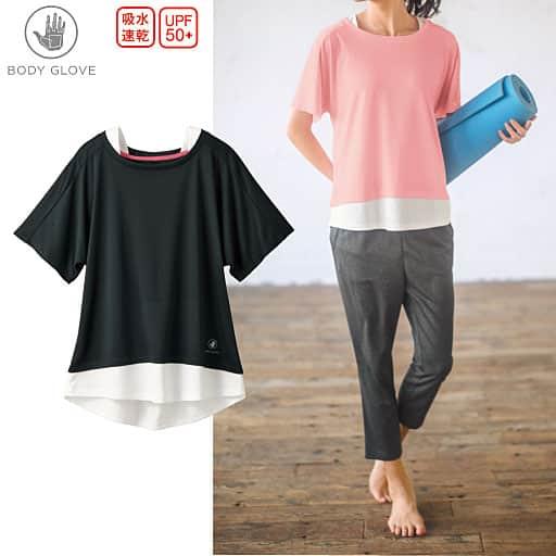 【SALE】 【レディース】 フェイクレイヤードTシャツ(BODY GLOVE)の通販