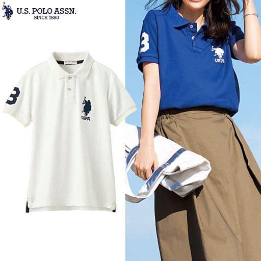 【レディース】 ビッグロゴポロシャツ(U.S.POLO ASSN) - セシール