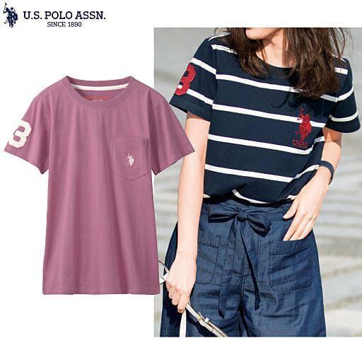 【SALE】 【レディース】 ロゴTシャツ(U.S.POLO ASSN)の通販