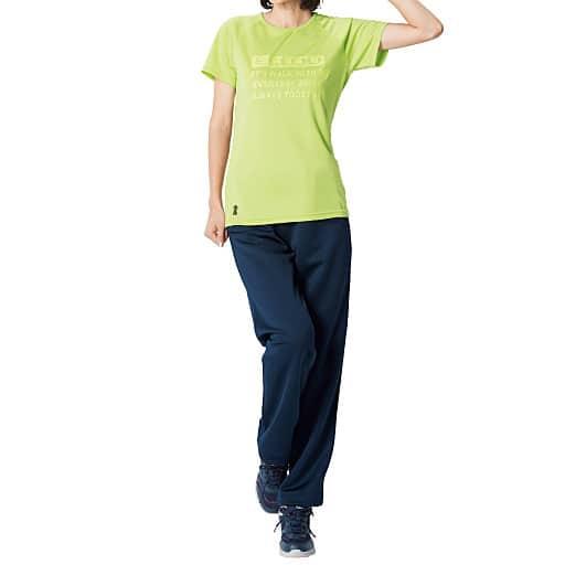 【SALE】 【レディース】 半袖プリントTシャツ(エルジュ)(吸汗速乾、UVカット)の通販