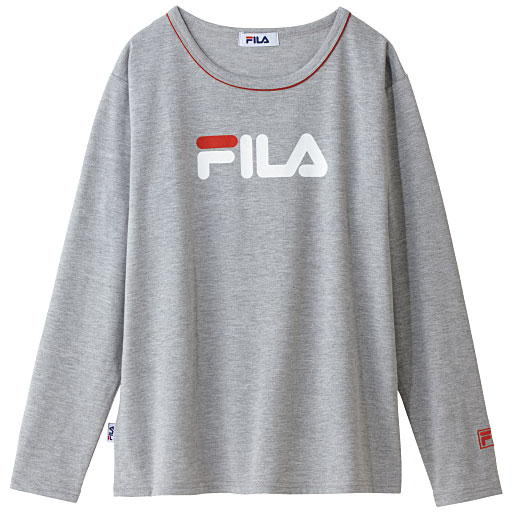 【SALE】 【レディース】 クルーネックプリントTシャツ(FILA)の通販