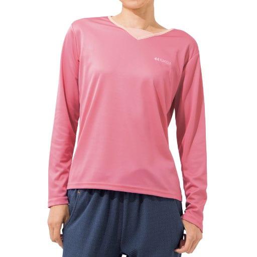【SALE】 【レディース】 長袖デザインTシャツ(Kaepa)の通販