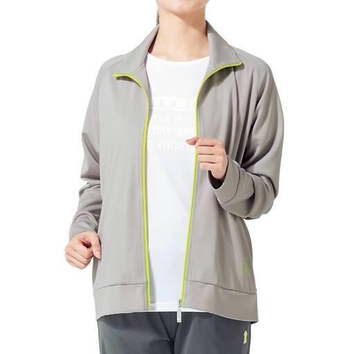 【レディース】 ドライメッシュジャケット(エルジュ)(吸汗速乾、UVカット)の通販