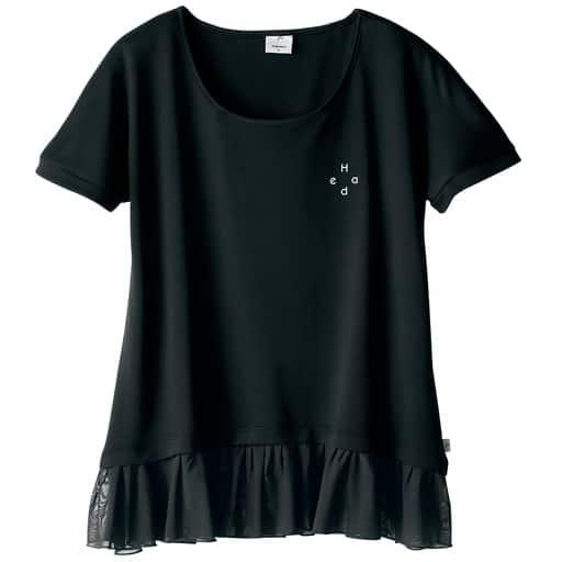 【レディース】 裾レース半袖Tシャツ(HEAD)の通販