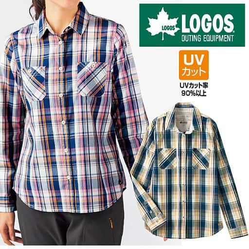【SALE】 【レディース】 UVカットチェックシャツ