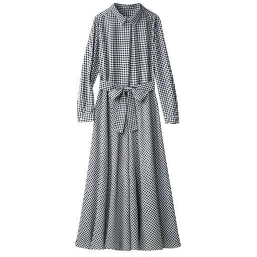 【レディース】 ギンガムシャツワンピース – セシール