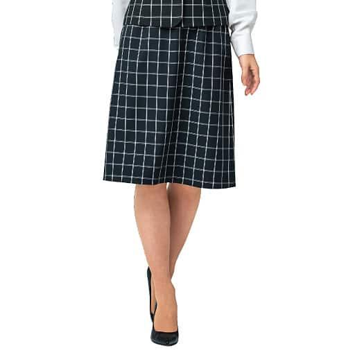 【レディース】 台形スカート(温度調整機能裏地付き)(事務服・洗濯機OK) – セシール