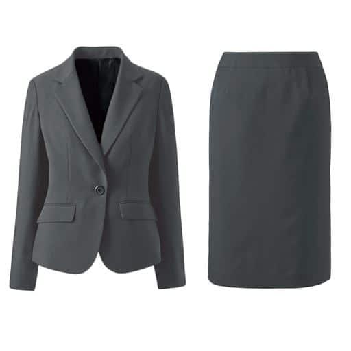 【レディース】 デザインが選べるスカートスーツ(タイトスカート・マーメイドスカート) 13AR70、7AR61、9AR64、11AR67、13ABR76、15ABR80、19ABR88、17ABR84、21ABR92 グレー