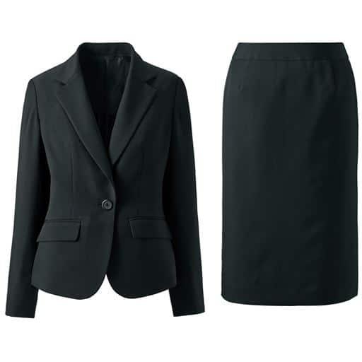 【レディース】 デザインが選べるスカートスーツ(タイトスカート・マーメイドスカート) 13AR70、15ABR80、19ABR88、17ABR84、11AR67、13ABR76、9AR64、21ABR92、7AR61 ブラック