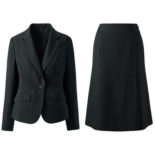 【レディース】 デザインが選べるスカートスーツ(タイトスカート・マーメイドスカート) 15ABR80、7AR61、9AR64、11AR67、13AR70、17ABR84、13ABR76、19ABR88、21ABR92 ブラック