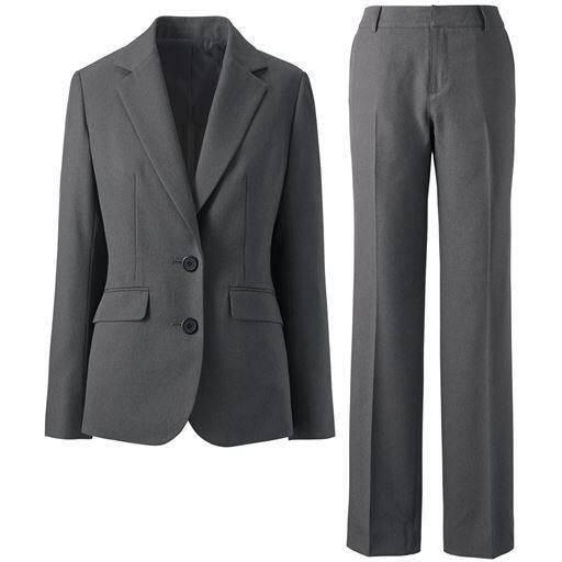 【レディース】 シルエットが選べるパンツスーツ(ブーツカットパンツ・ストレートパンツ)の通販