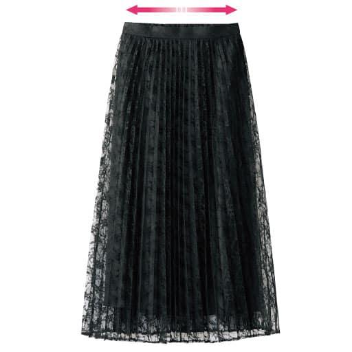 【レディース】 レースプリーツスカート(フォーマル・卒業式・入学式) – セシール