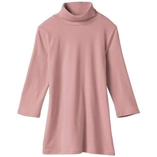 【レディース】 UVカットルーズネックTシャツ(七分袖)(S-5L・綿100%)の通販