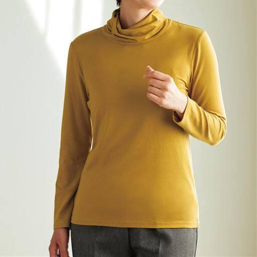 【レディース】 テンセルオフタートルTシャツ(日本製)の通販