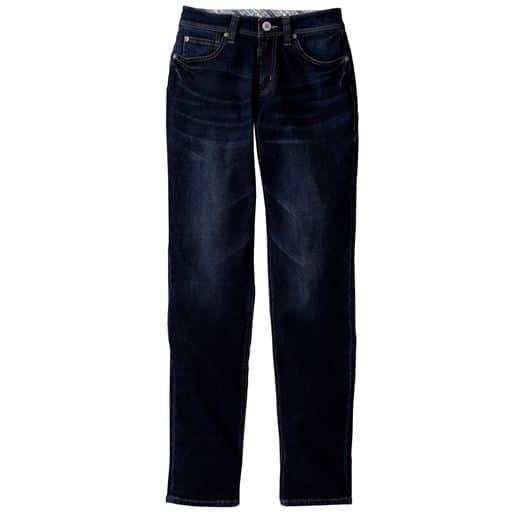 【レディース大きいサイズ】 スリムテーパードジーンズ(美脚パンツ)の通販