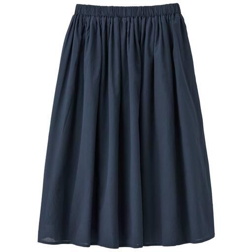 【レディース】 丈が選べるコットンギャザースカート – セシール