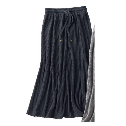 【レディース】 テレコロングスカート – セシール