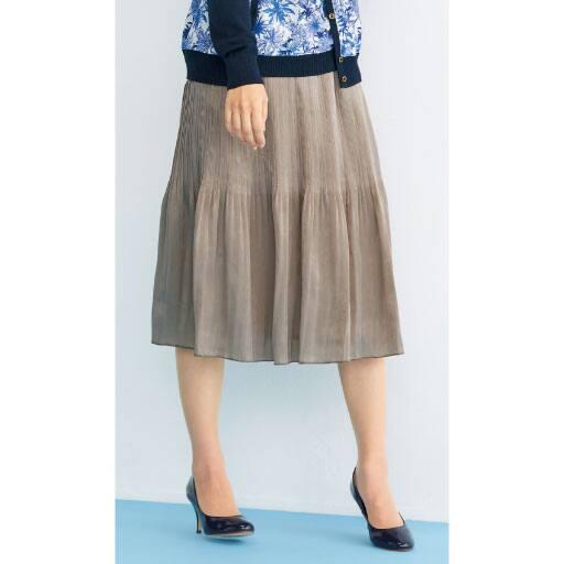 【レディース】 消しプリーツスカートの通販