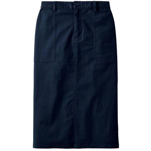 30%OFF【レディース】 ベイカーストレッチチノタイトスカート