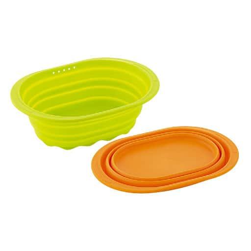 シリコーン 小判型洗い桶 – セシール