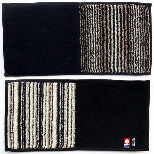 今治タオル 縞縞xGOLDPEARL ハーフタオルハンカチ – セシール