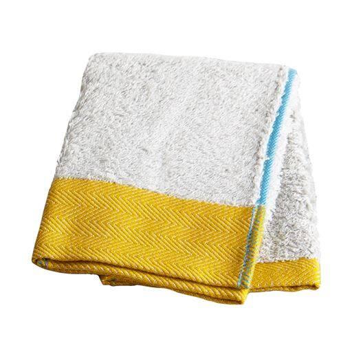 洗うほどしなやかなヘムカラーパイル今治タオル – セシール