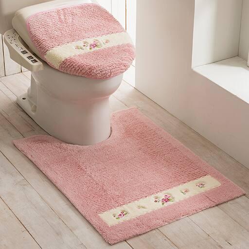 【ローズマーチ】バラ柄トイレ用品(単品販売)の商品画像