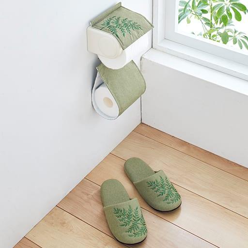 リゾート気分になれるトイレ小物(PH/スリッパ)の商品画像