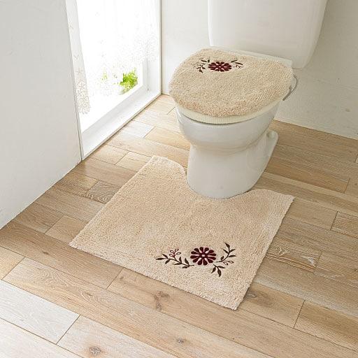 綿素材のトイレ用品(単品販売)の写真