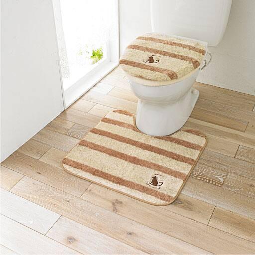 ネコ柄トイレ用品(単品販売)の商品画像