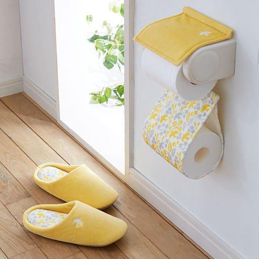 北欧鳥柄トイレ小物(単品販売)の写真