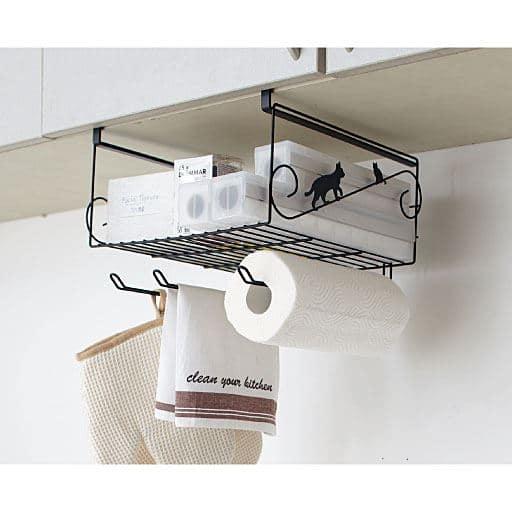 ネコの吊り戸棚下ラック – セシール