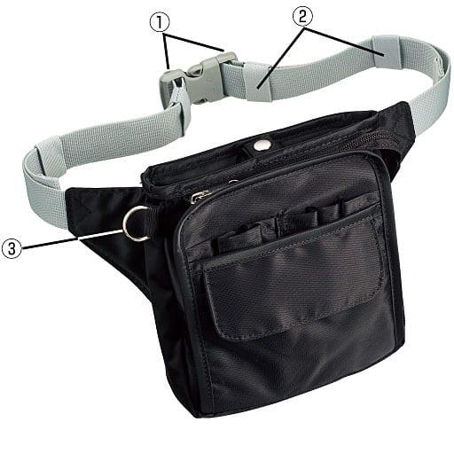 多機能ウエストバッグ – セシール