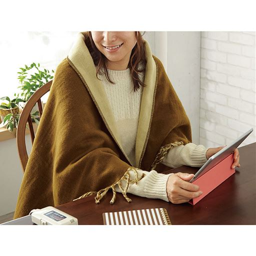 電気ひざ掛け毛布の商品画像